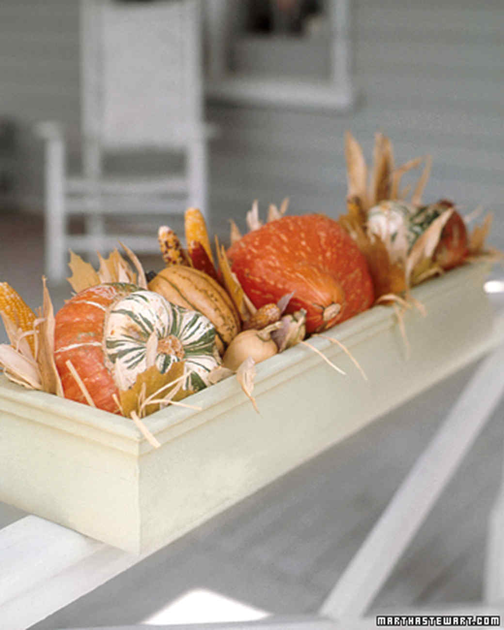 Decoration of dishes. Autumn Carving