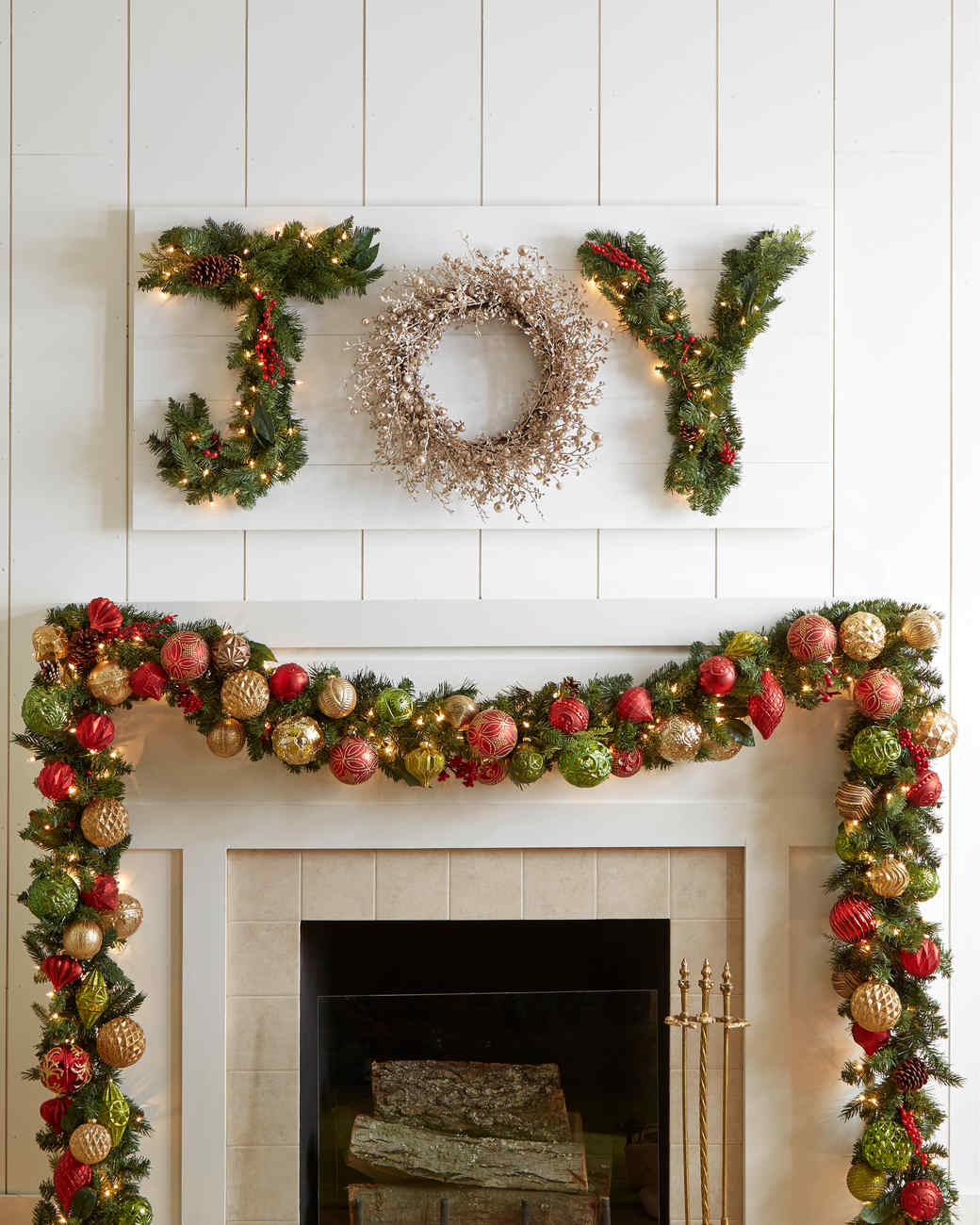 Martha Stewart Christmas Decoration Part - 34: The Most Joyous Christmas Wreath Sign