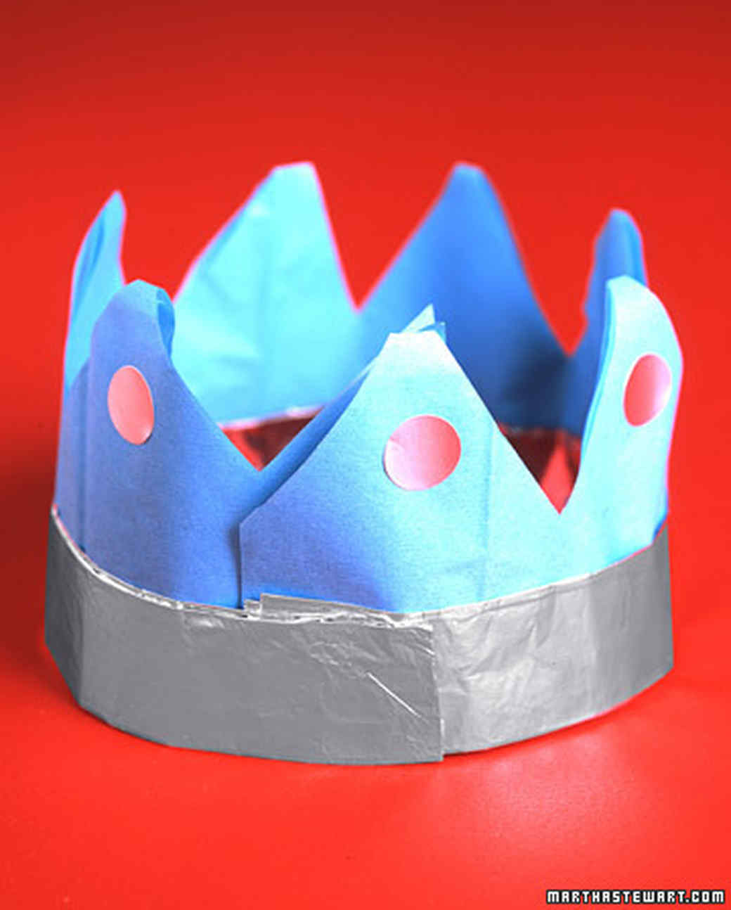 Foil-and-Paper Crowns