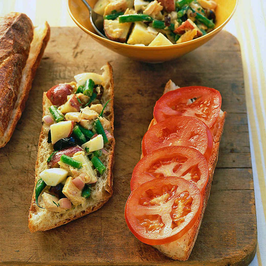 Eating Light: Sandwich Salads