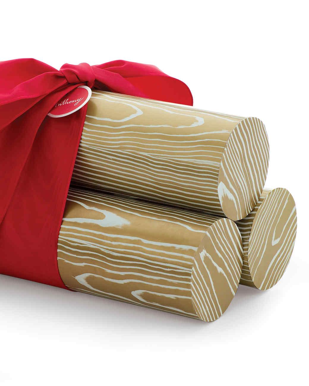 Yule Log Gift Packaging