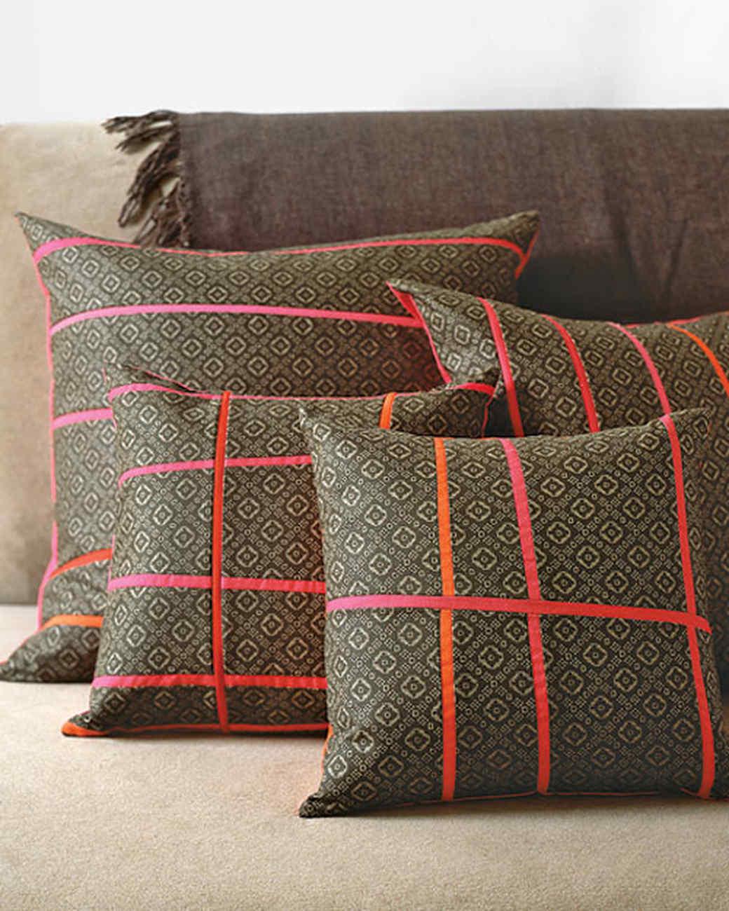 Pieced Pillows