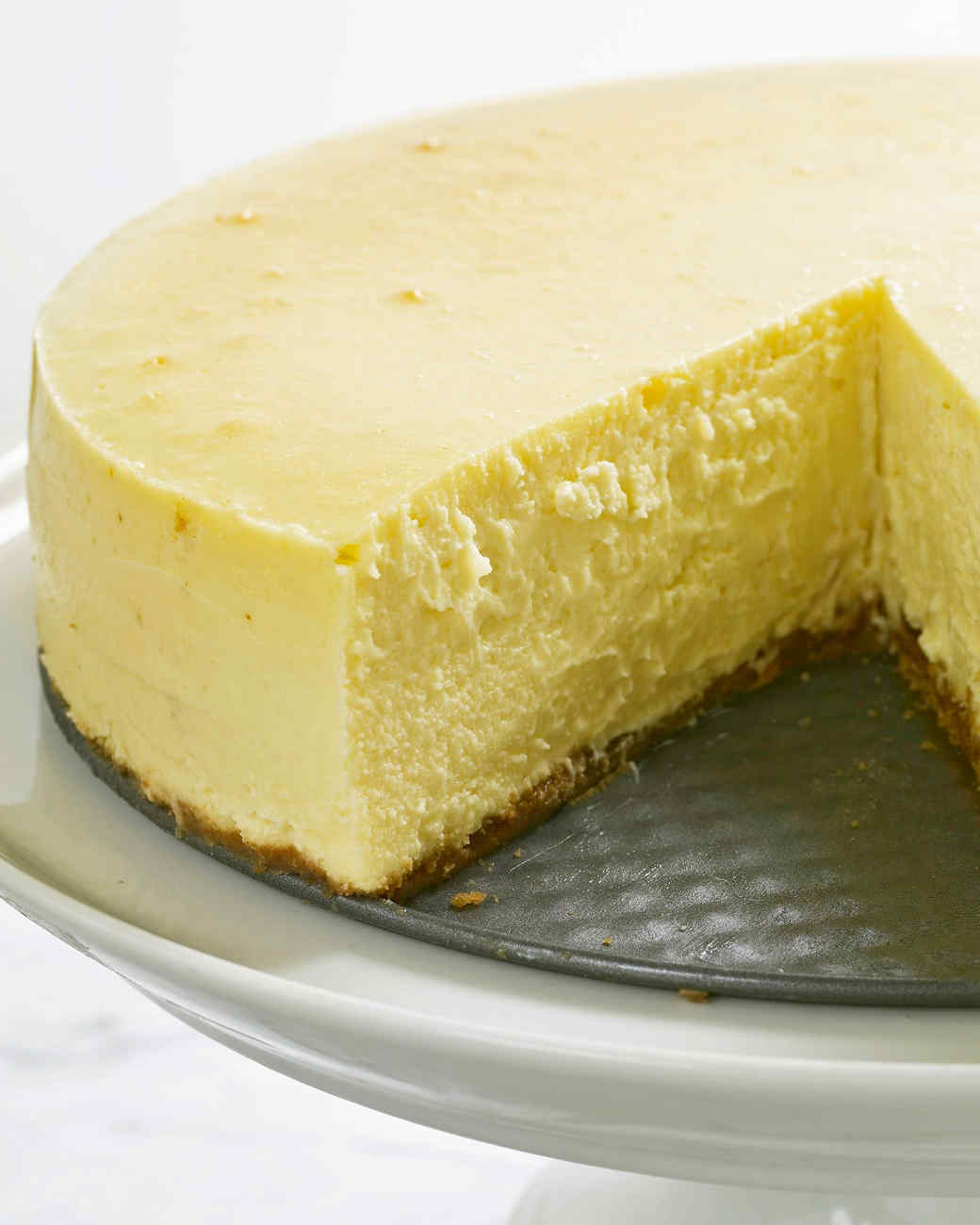 New York-Style Cheesecake Recipe | Martha Stewart