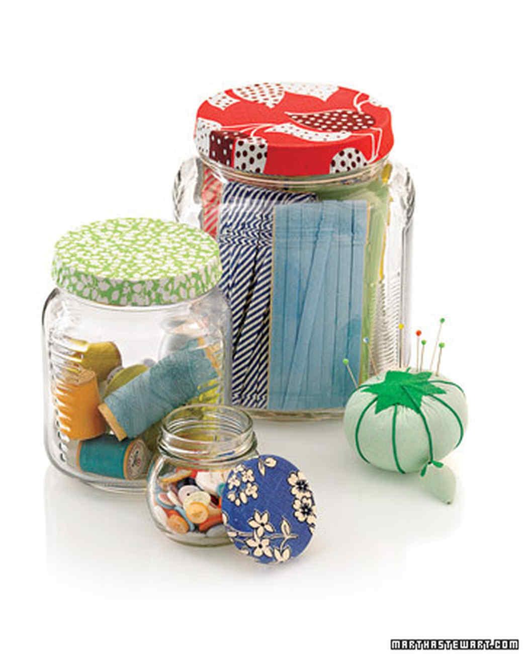 Decorative Jar Lids