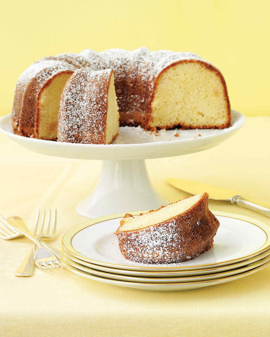 Martha Stewart Meyer Lemon Coffee Cake