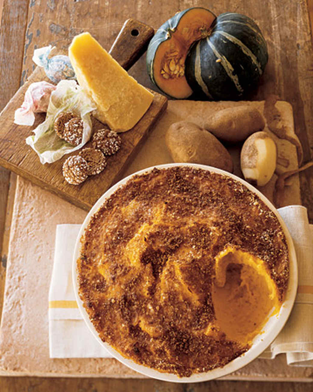 Mashed Squash and Potatoes with Amaretti