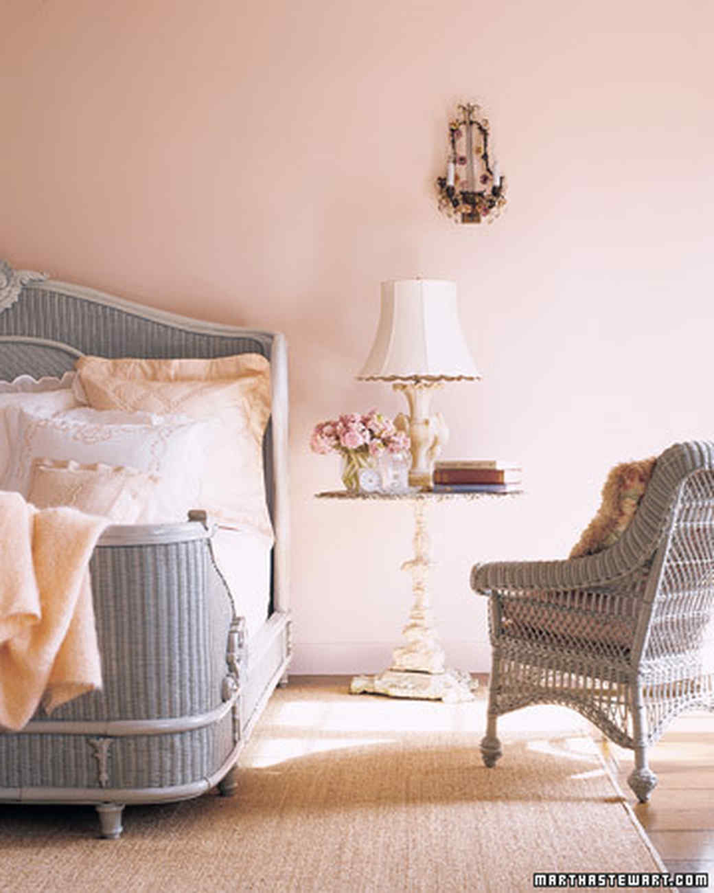 pink rooms martha stewart. Black Bedroom Furniture Sets. Home Design Ideas