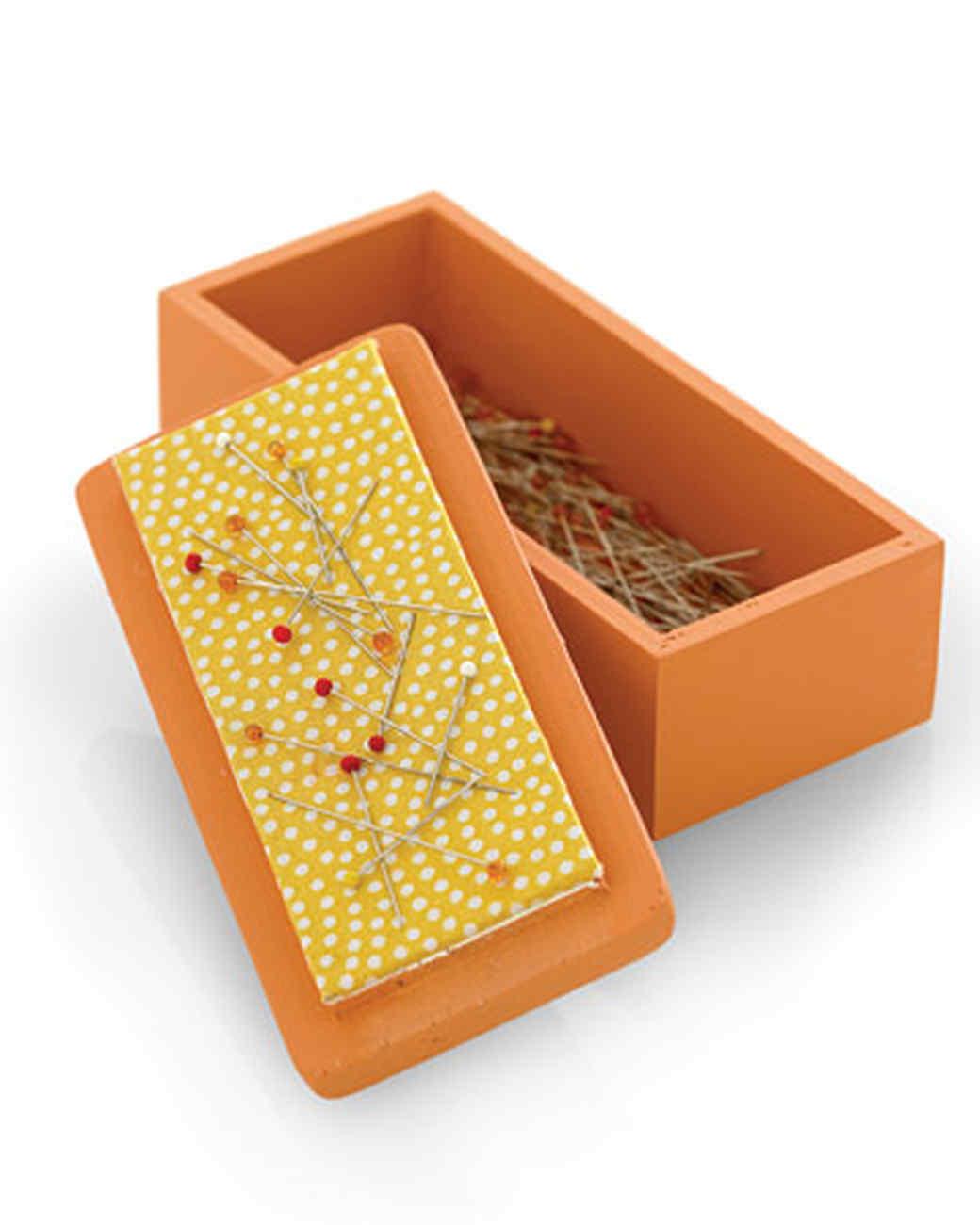 Magnetized Pin Box