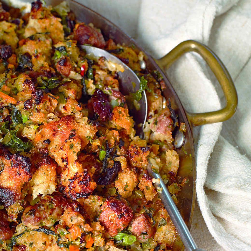 Sausage, Dried Cherry and Sage Stuffing Sausage, Dried Cherry and Sage Stuffing new pictures