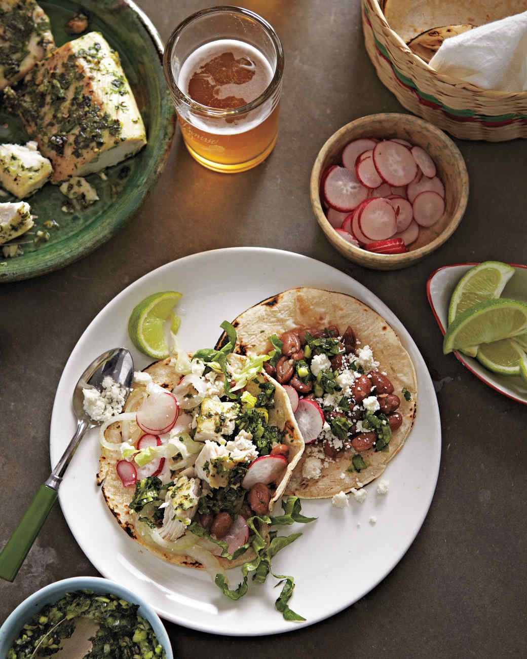 Bean-and-Fish Tacos