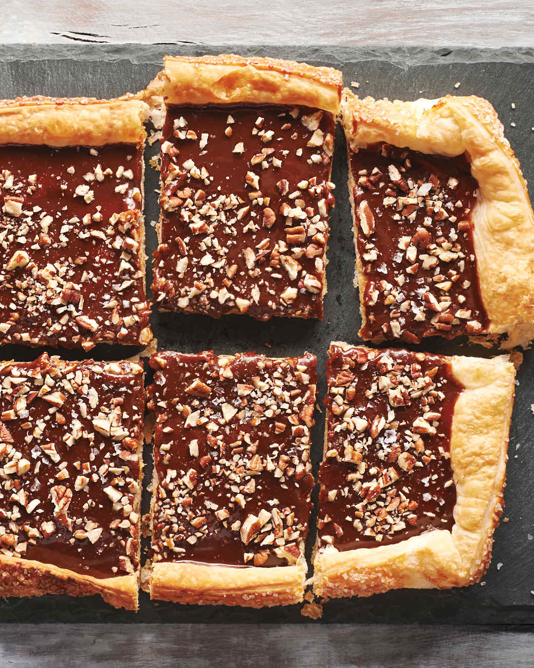 Chocolate Caramel Pecan Tart Recipe | Martha Stewart