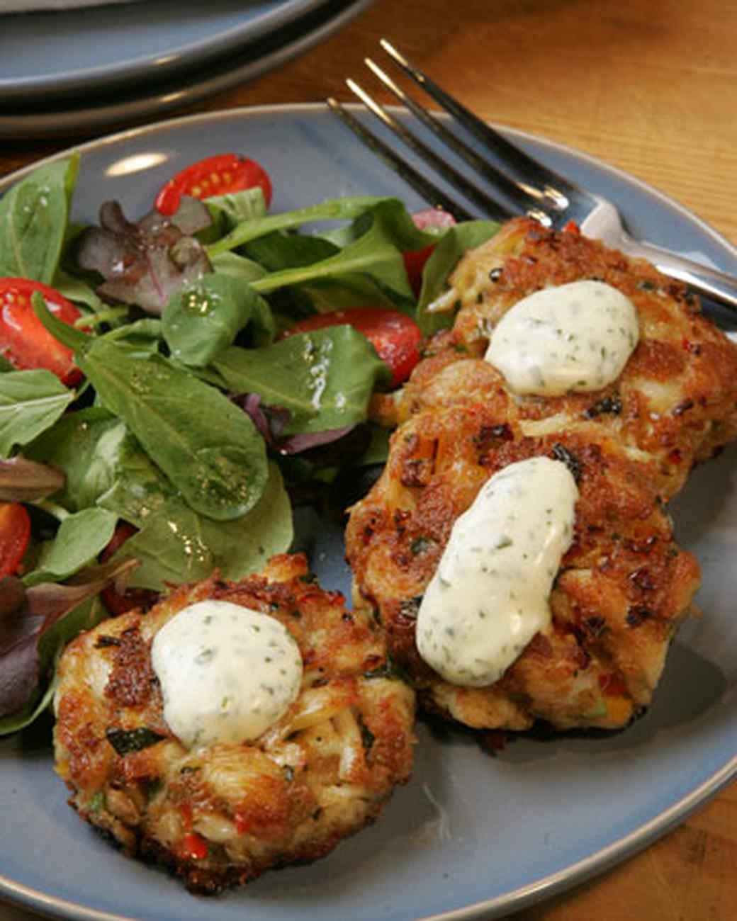 Recipe salmon crab cakes