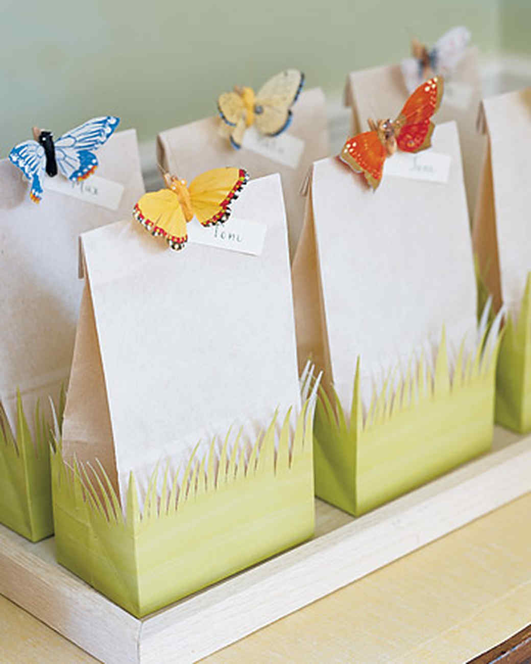 Fanciful Favor Bags | Martha Stewart