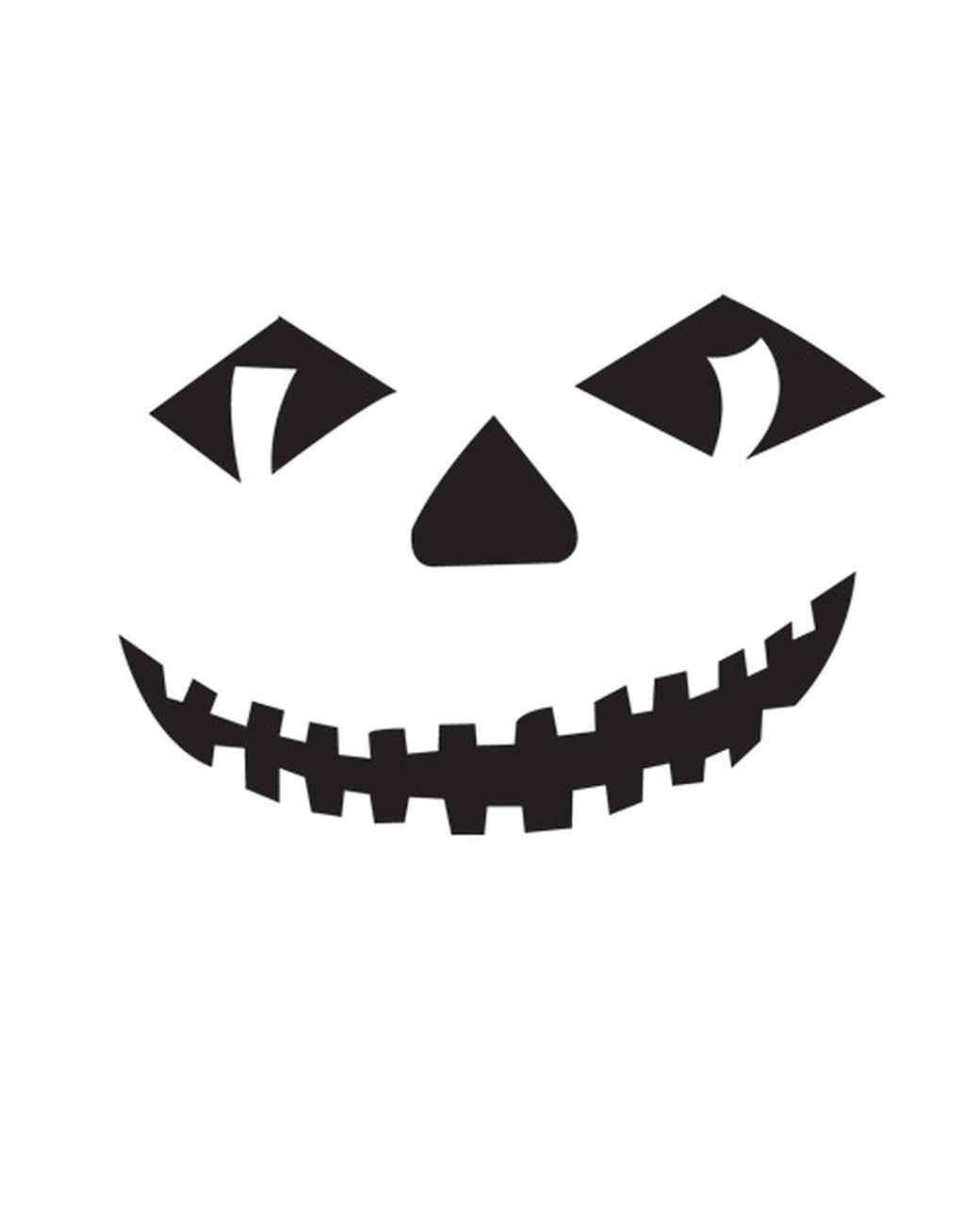 Halloween Pumpkin-Carving Patterns and Pumpkin Templates | Martha ...