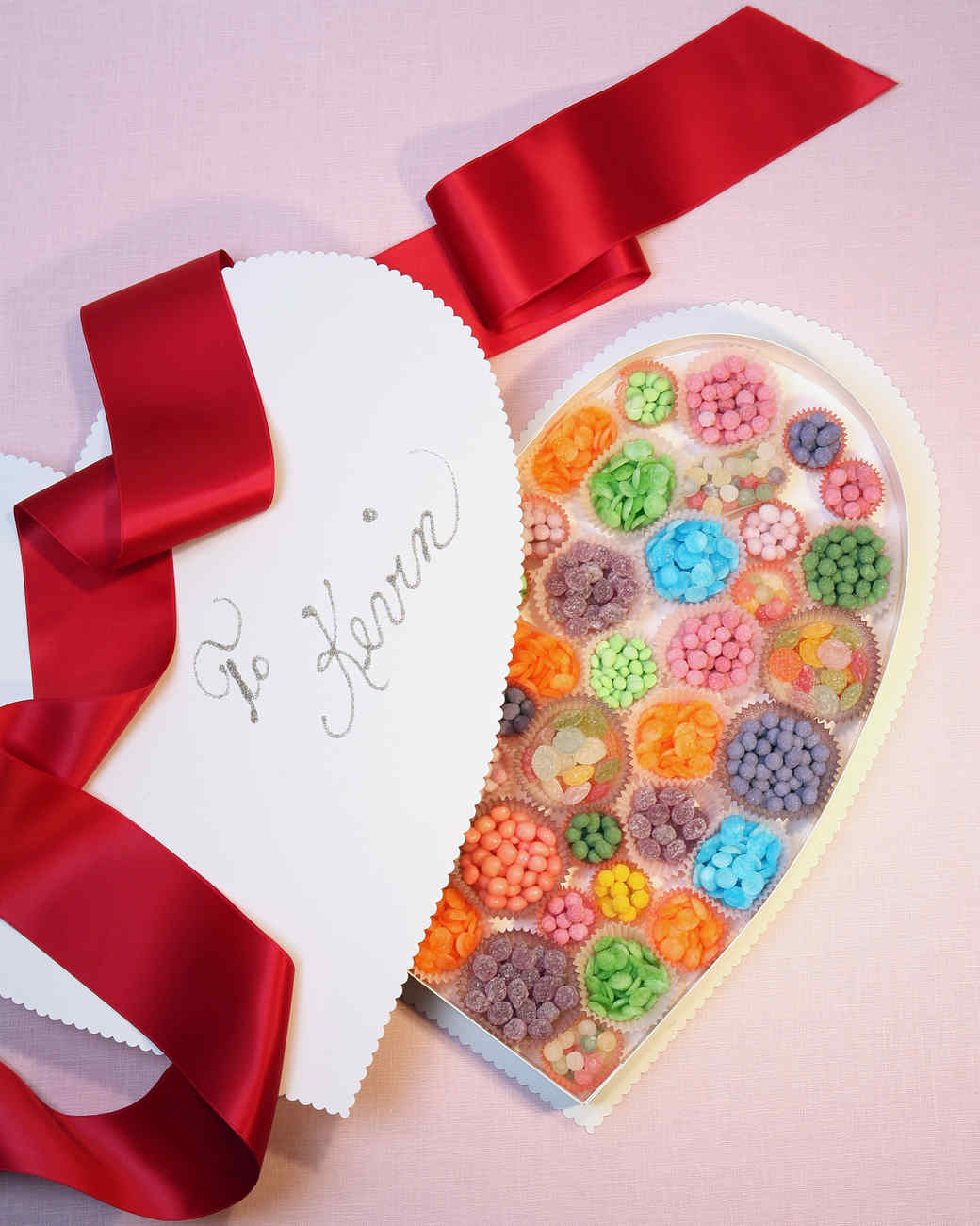 Heart-Shaped Candy Box : candy box ideas - Aboutintivar.Com