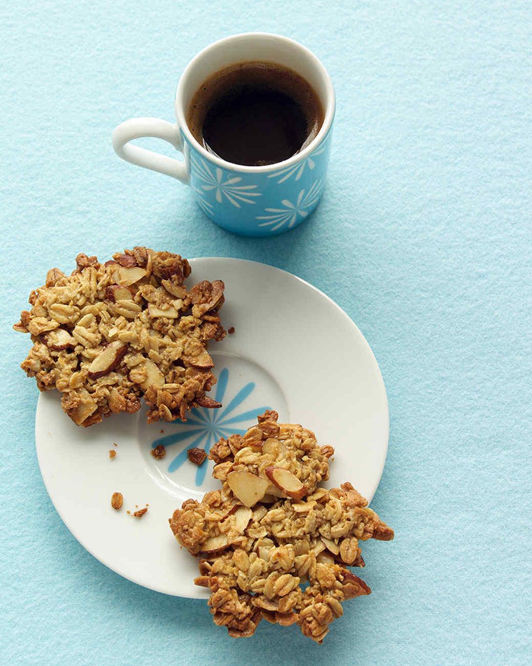 Oatmeal-Almond Crisps