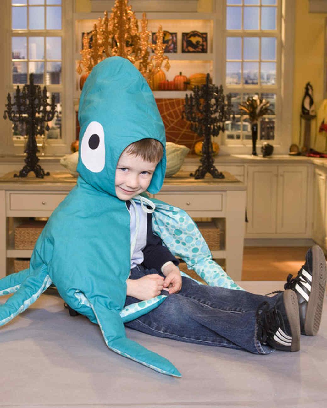 Octopus Costume & Video
