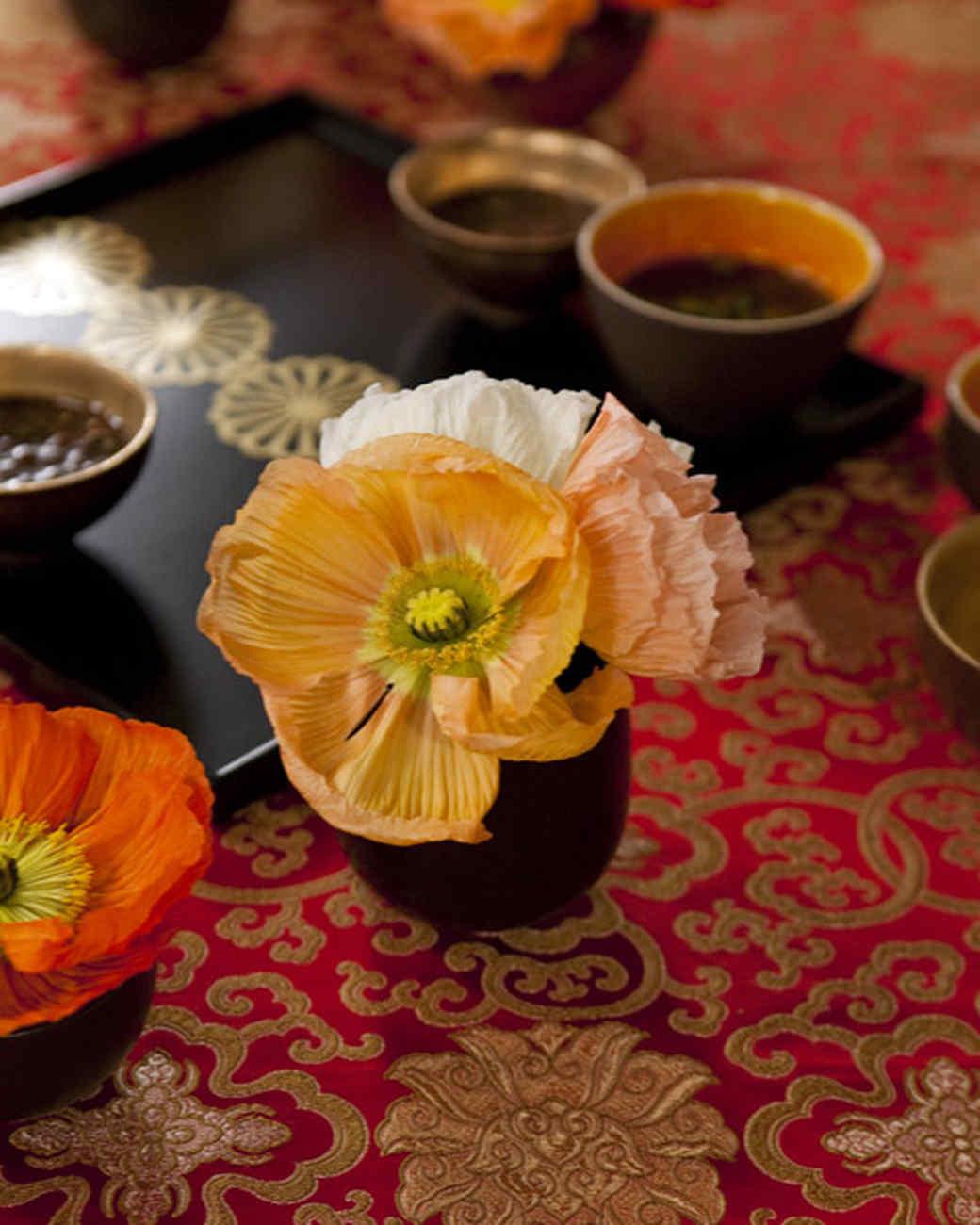 Oriental Poppy Arrangement