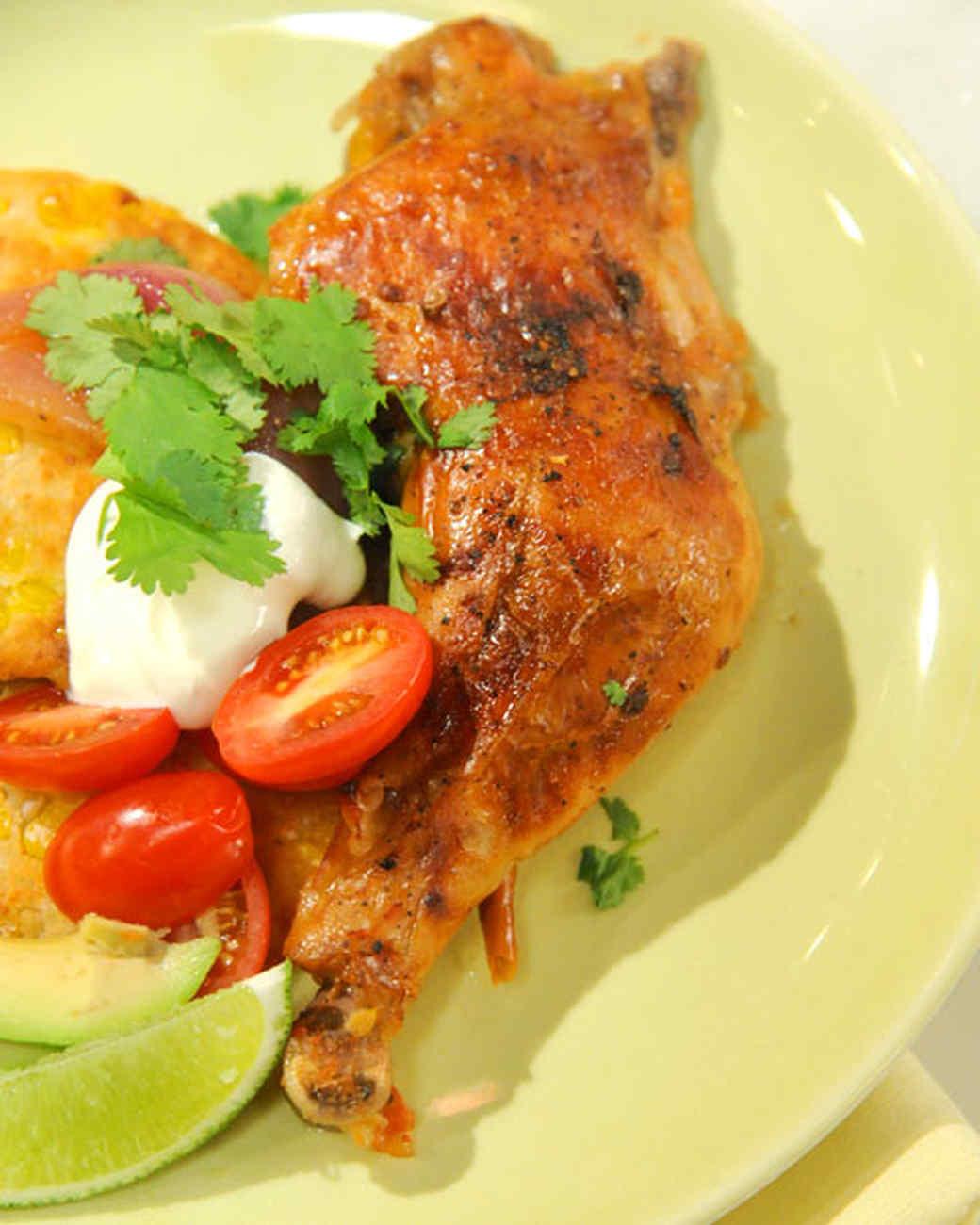Ponzu-Braised Chicken