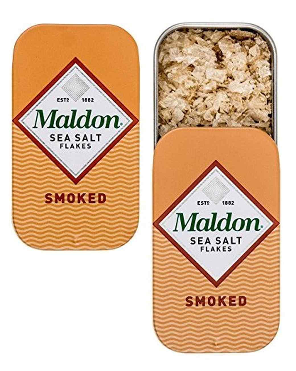 Maldon smoked sea salt tins