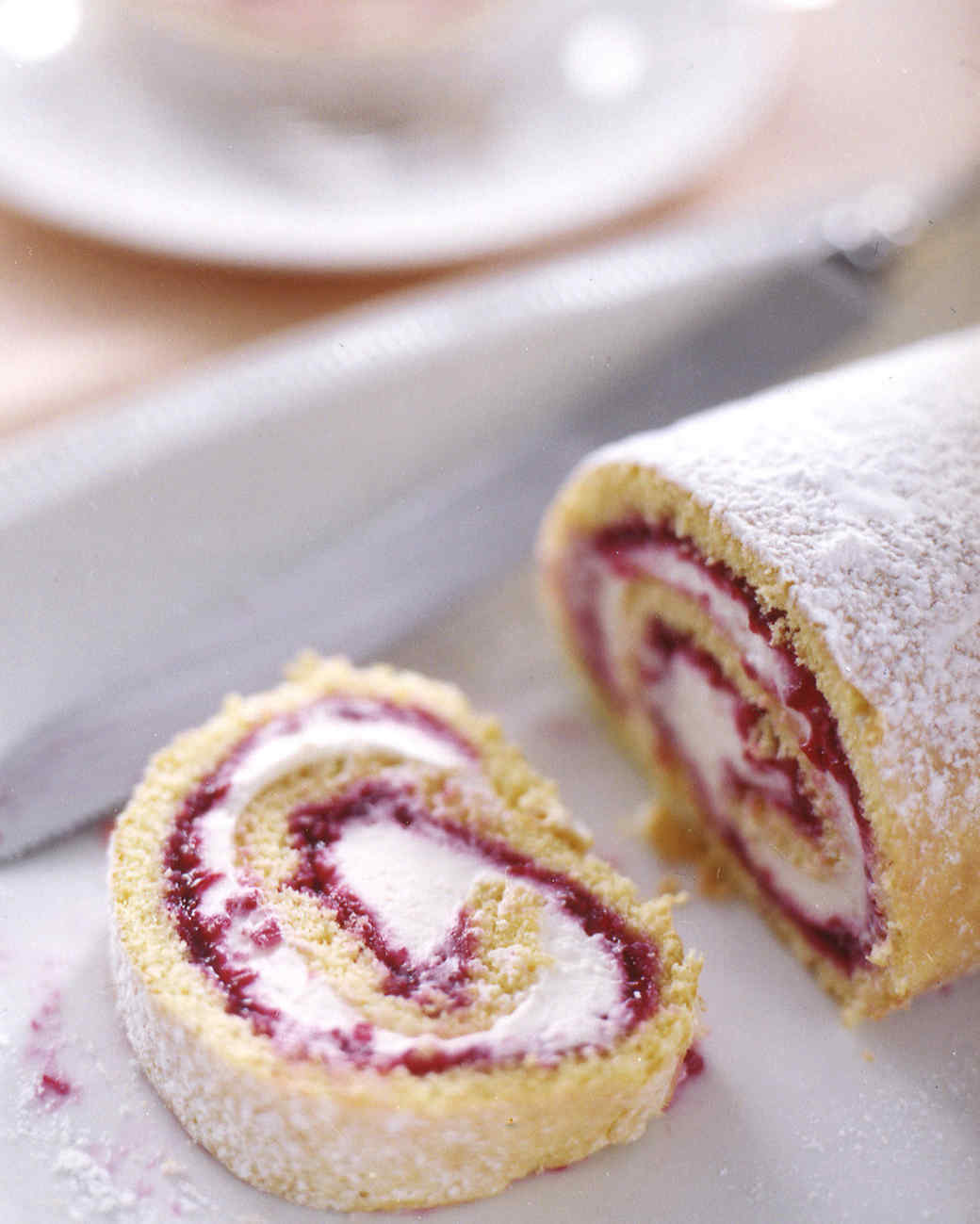 Rolled Cake Recipes | Martha Stewart