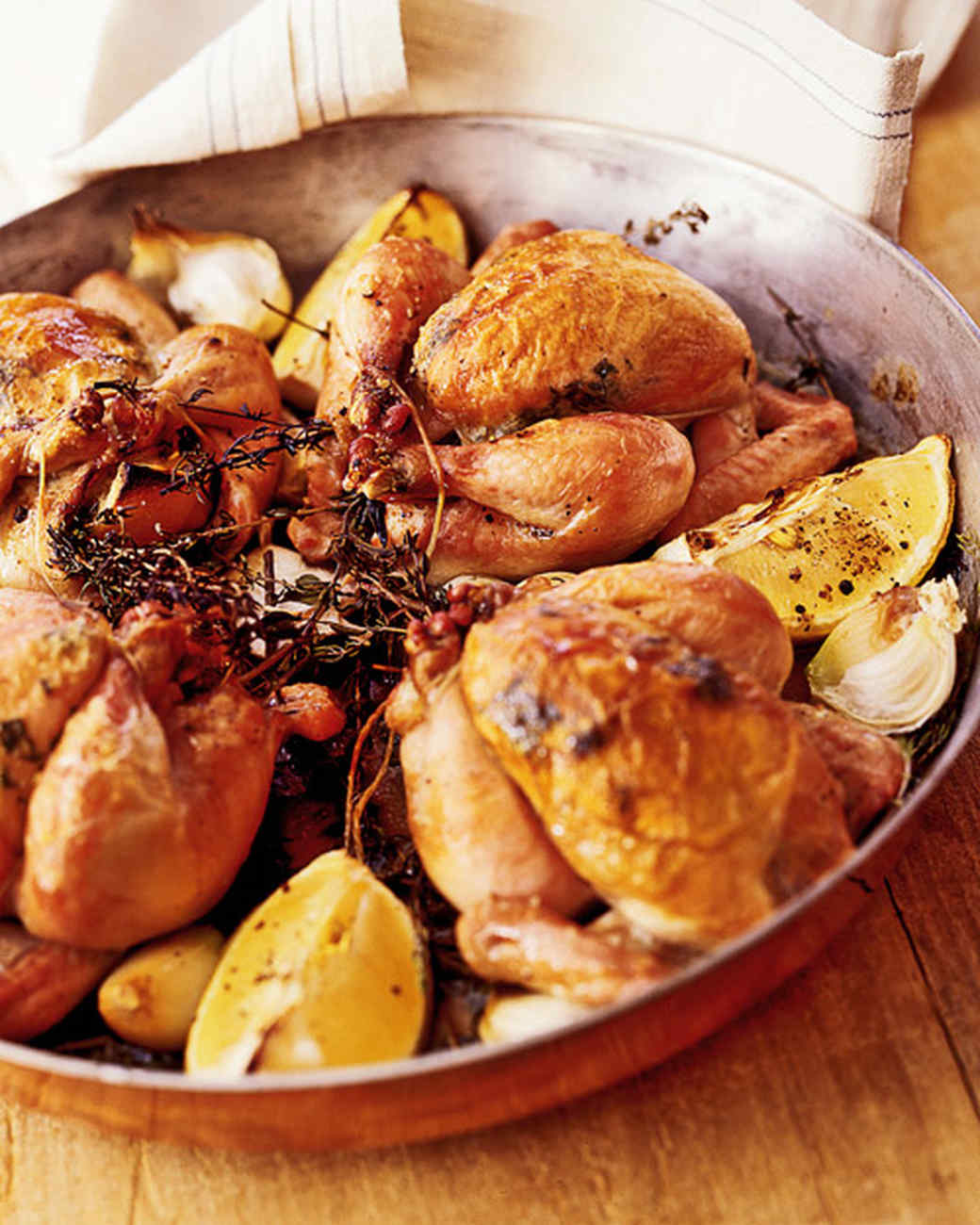 Thyme-Roasted Poussin
