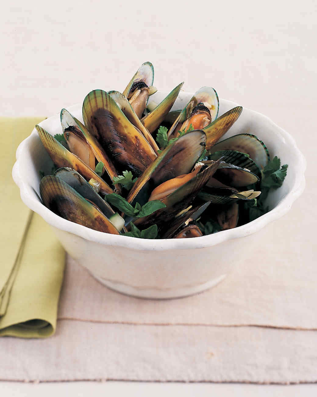 Mussels with Lime Juice and Mirin