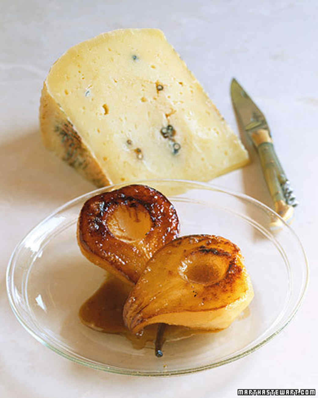 Roasted Pears with Pecorino Cheese