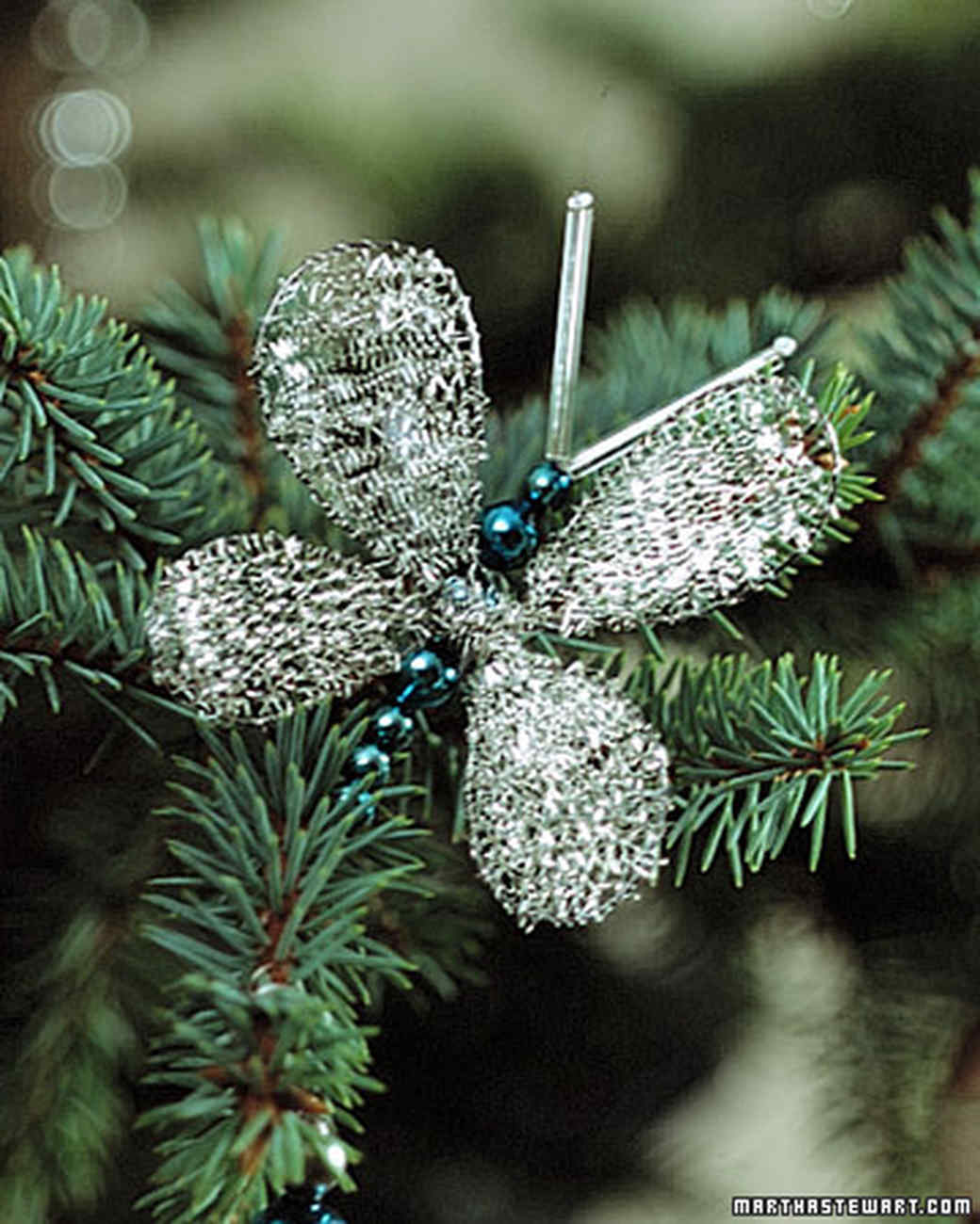 Tabletop Trees: Butterfly How-To