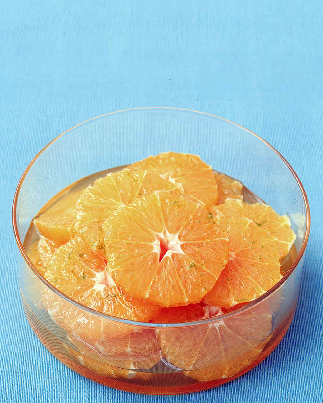 Orange Slices in Lime Syrup