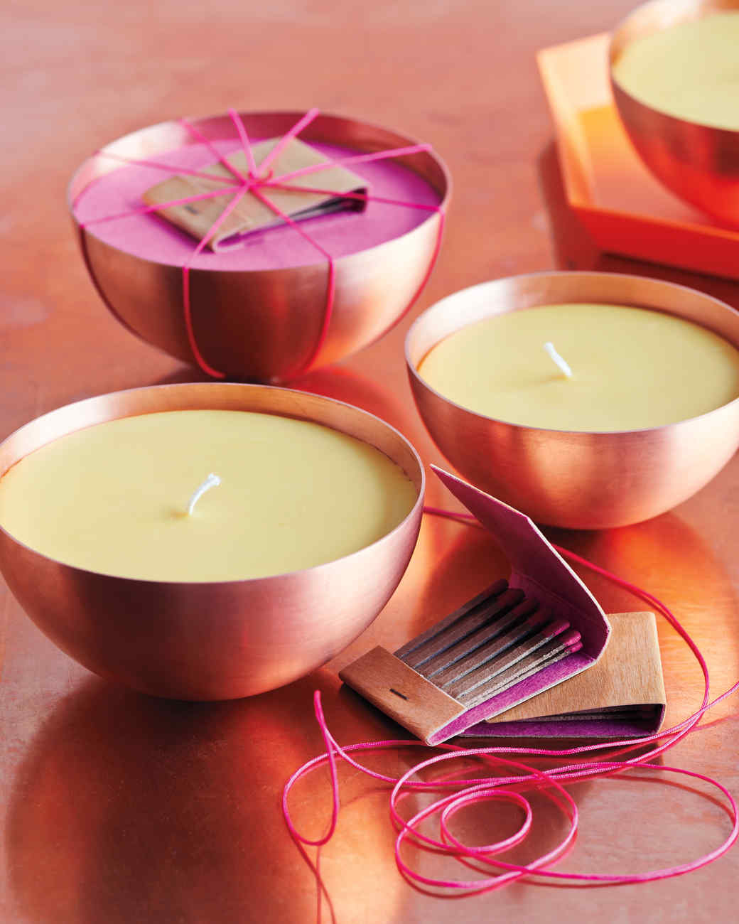 Citrus-and-Spice-Scented Candles