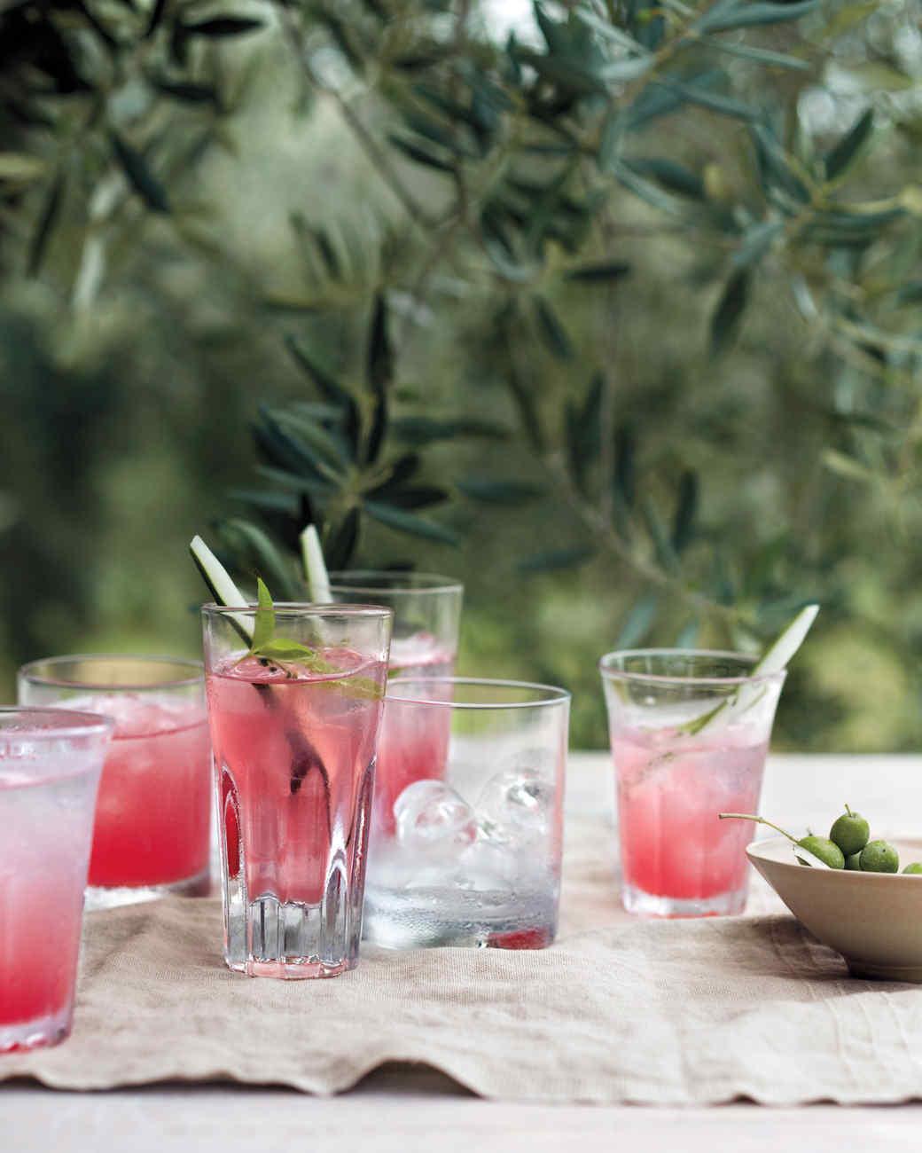Watermelon-Cucumber Coolers