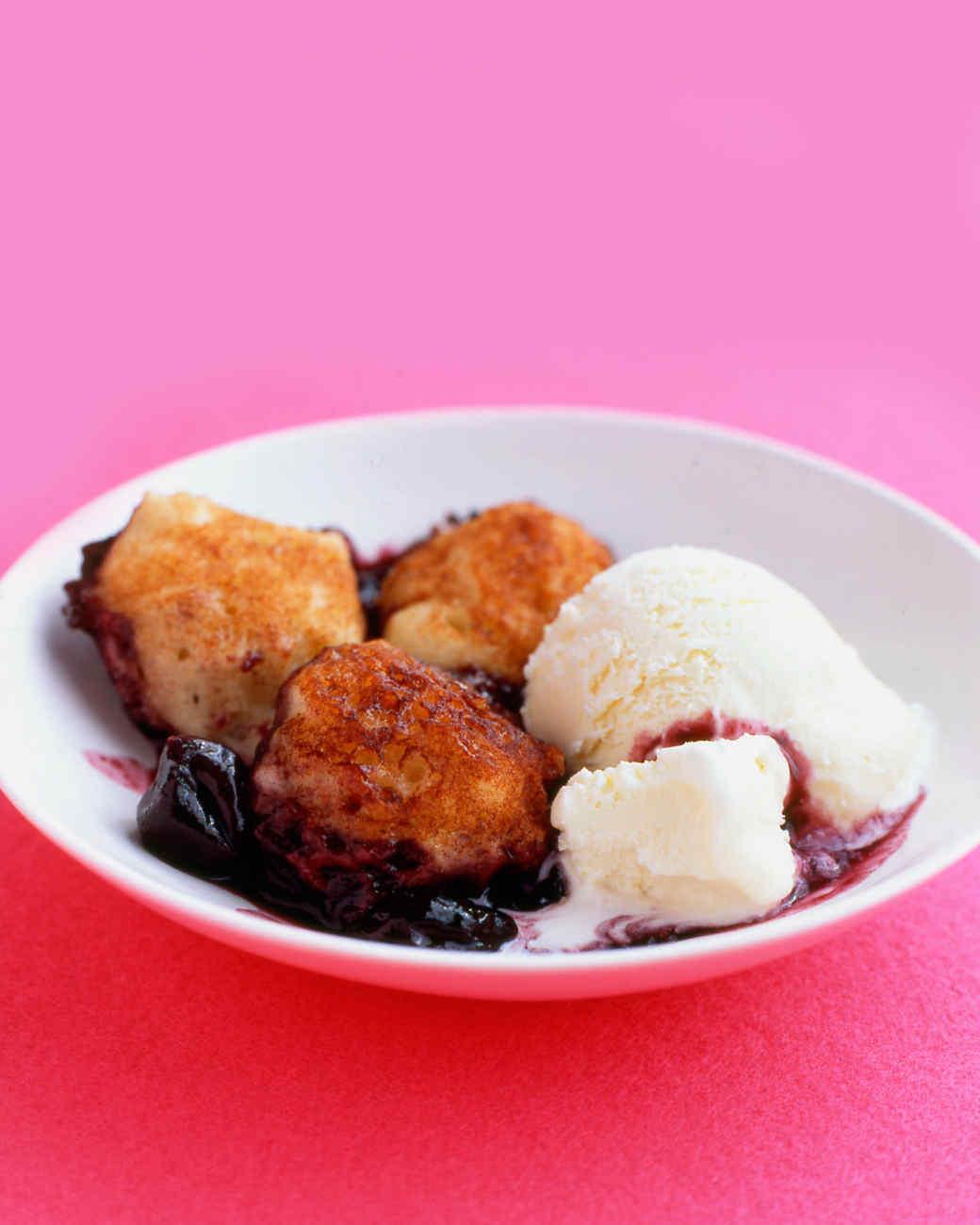 Dumplings with frozen cherries: recipes 3