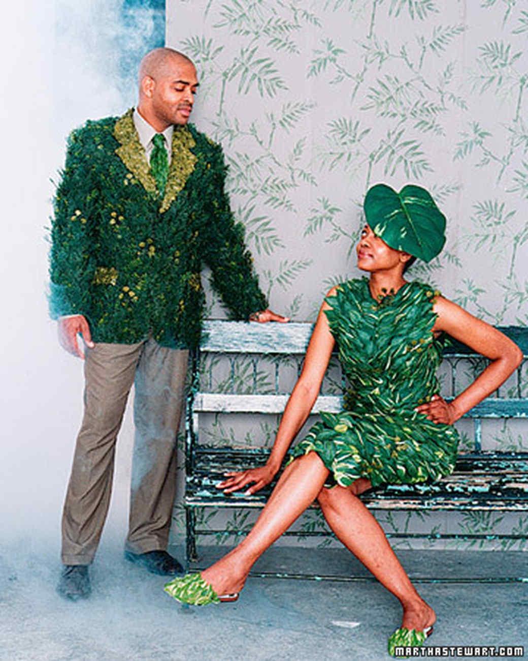 Swamp Couple No-Sew Costumes