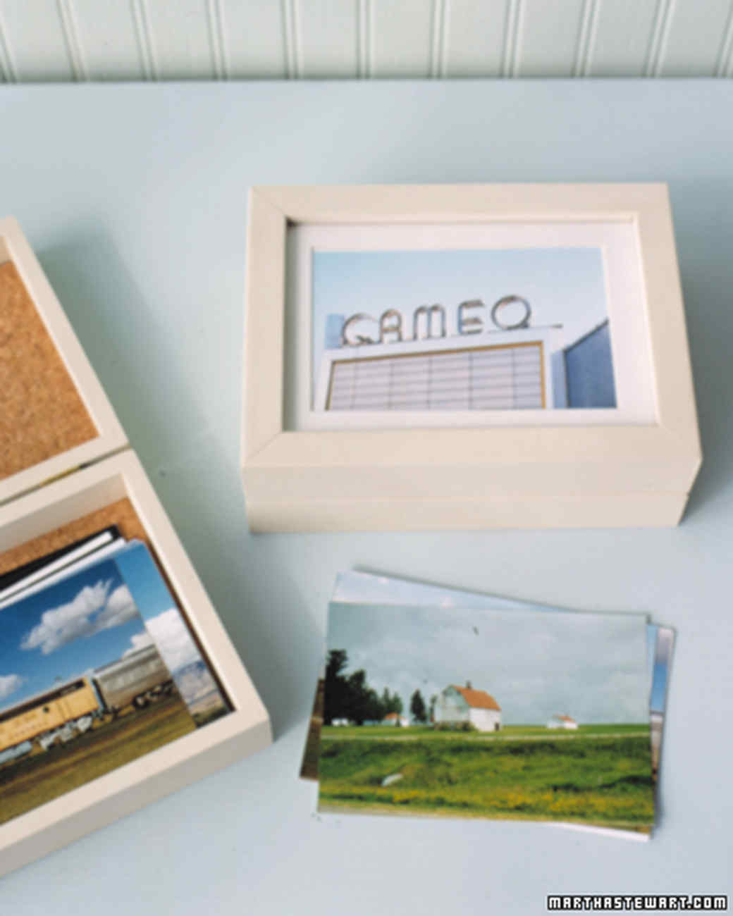 Picture Frame Photo Box Martha Stewart