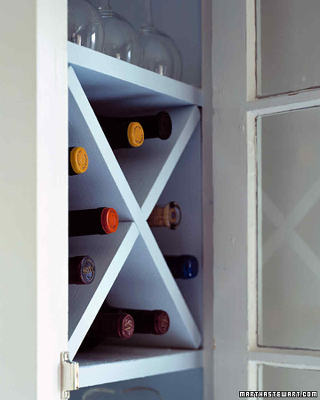 Compact Wine Rack Martha Stewart