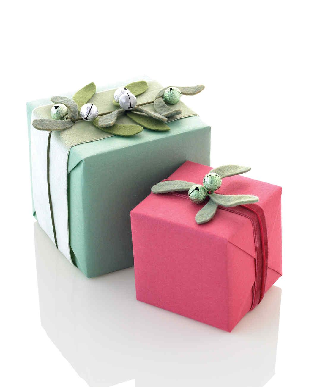 Mistletoe Gift Seals