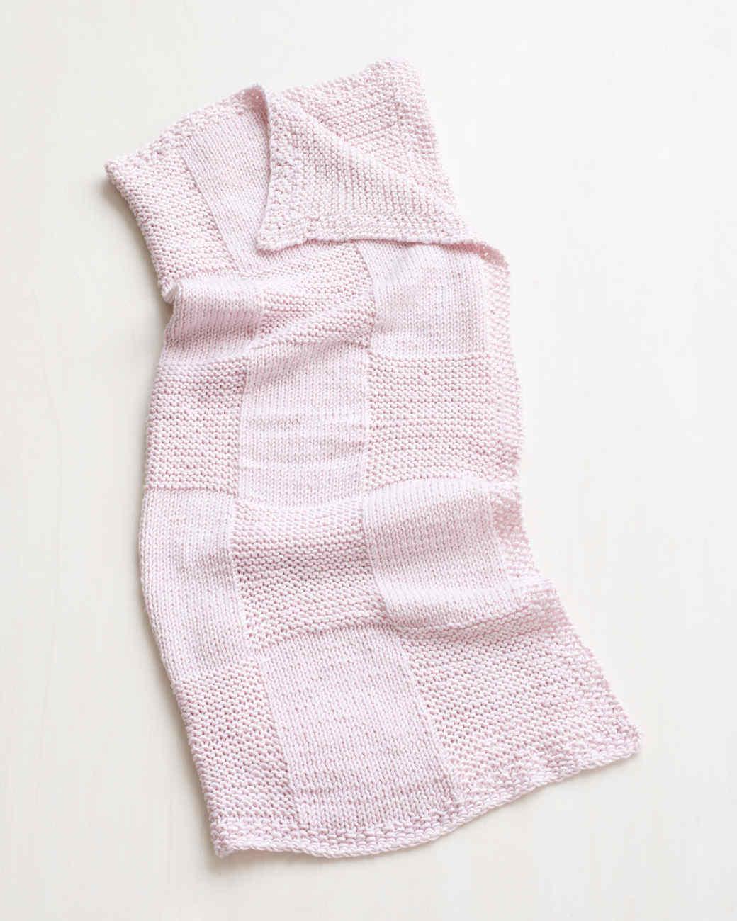 Martha Stewart Crafts Lion Brand® Yarn Extra Soft Wool Blend Loom-Knit Basketweave Throw