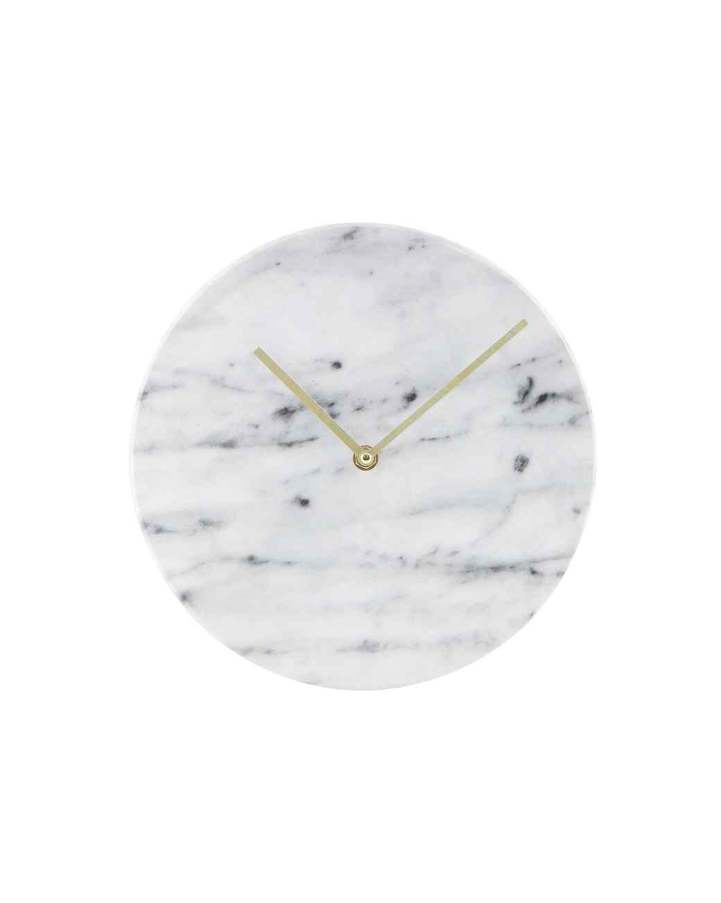 Marble clock from Target