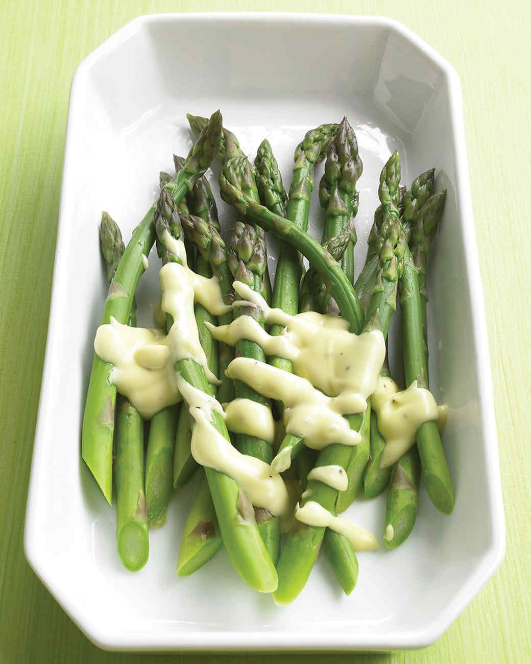 Asparagus With Creamy Mustard Sauce Recipe