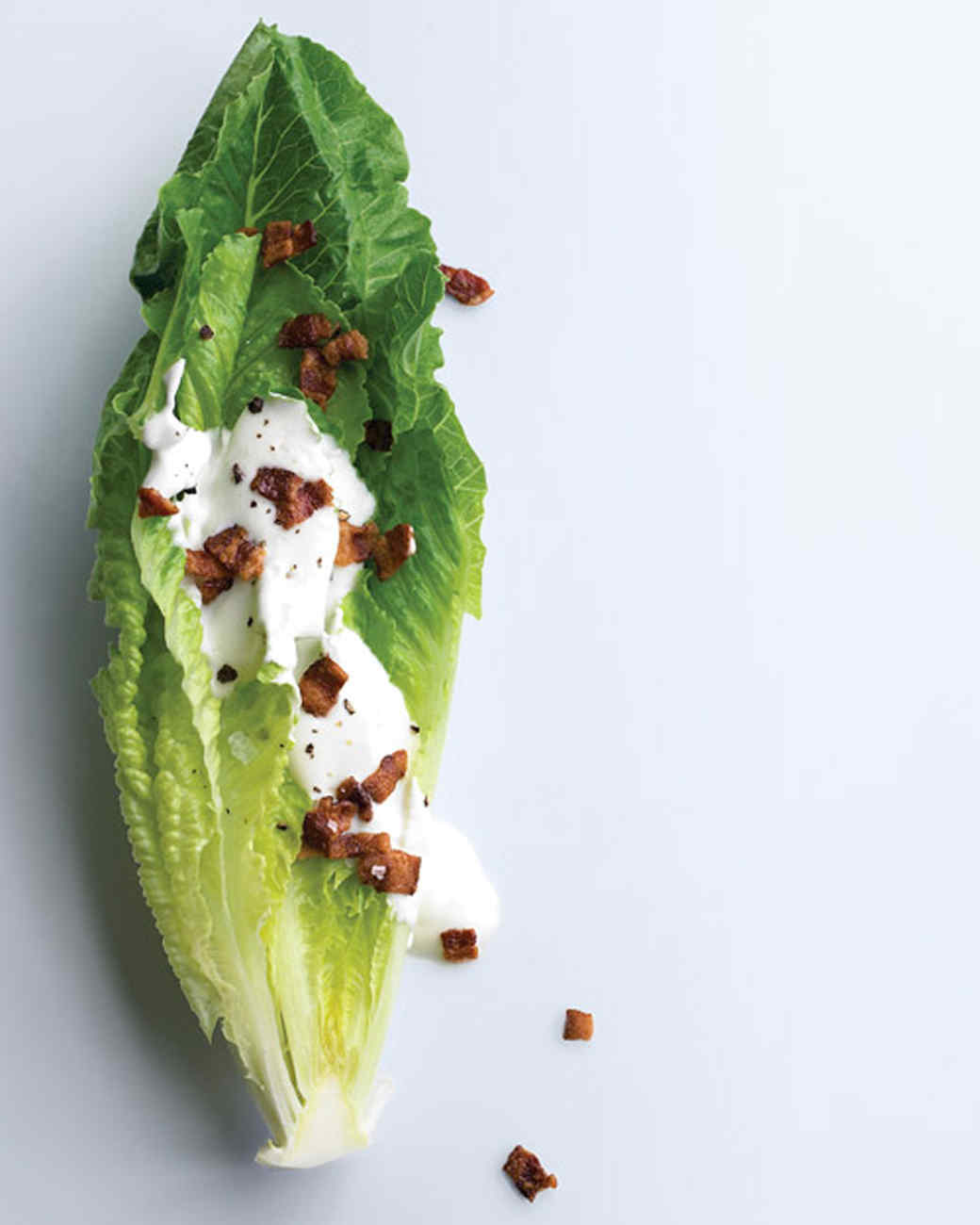 Romaine Hearts with Goat Cheese Dressing