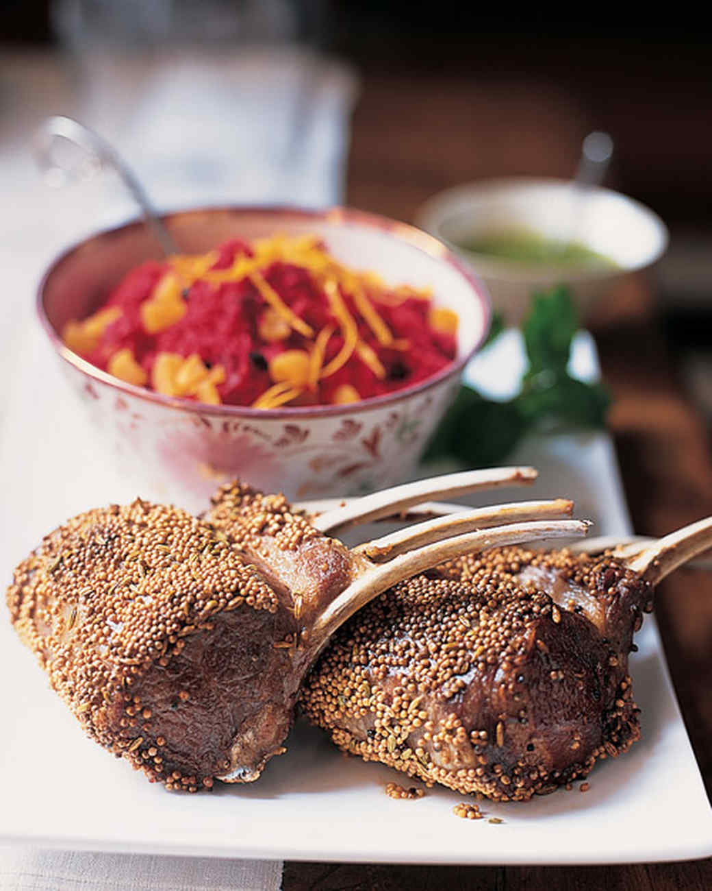 how to cut rack of lamb into chops