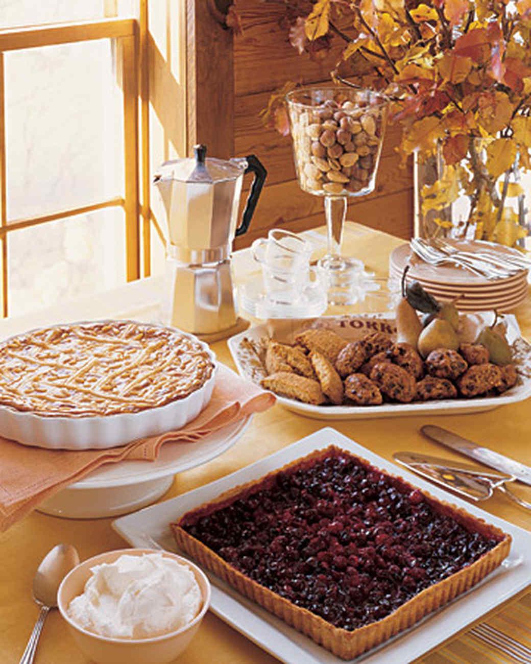 Pumpkin-and-Ricotta Crostata