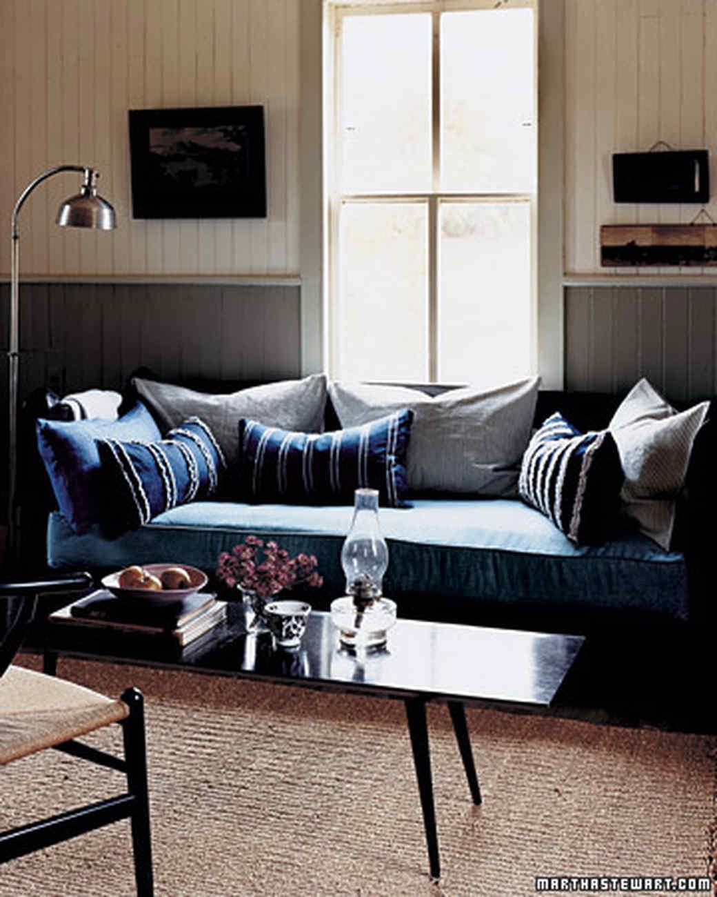 Denim Sofa