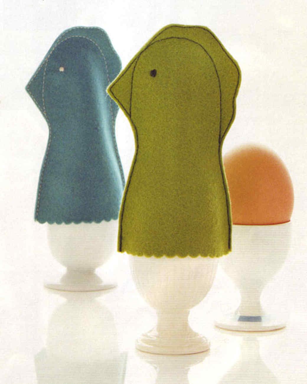 Hen-Shaped Egg Cozies