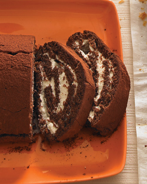Rolled Cake Recipes Martha Stewart