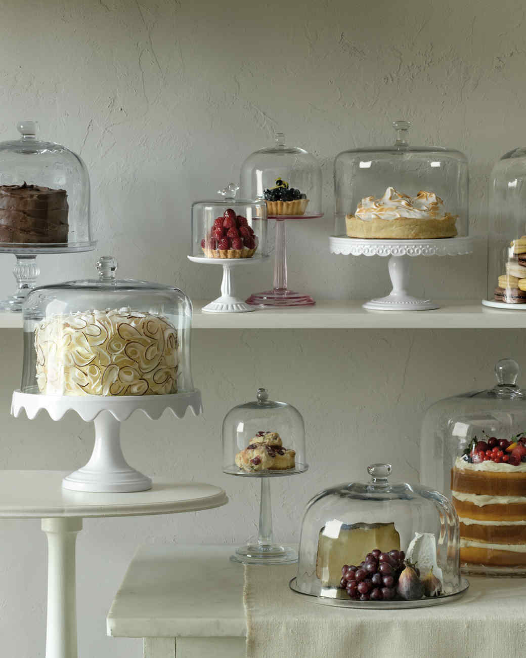Dome Home Design Ideas: Put Summer Desserts On A Pedestal