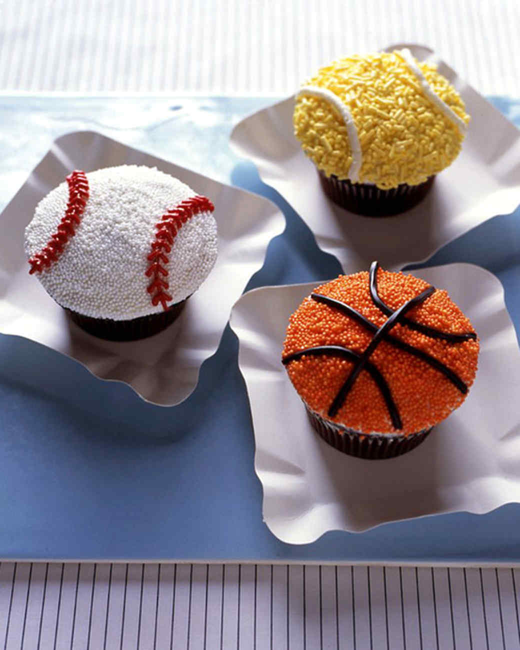 Home Run Cupcakes