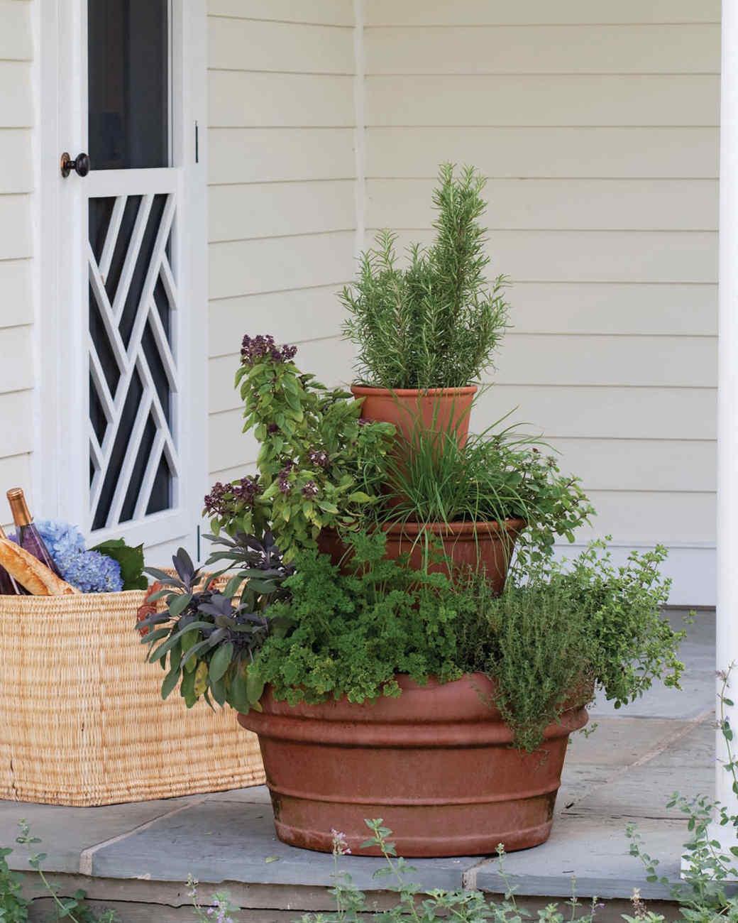 Tower of Herbs Martha Stewart
