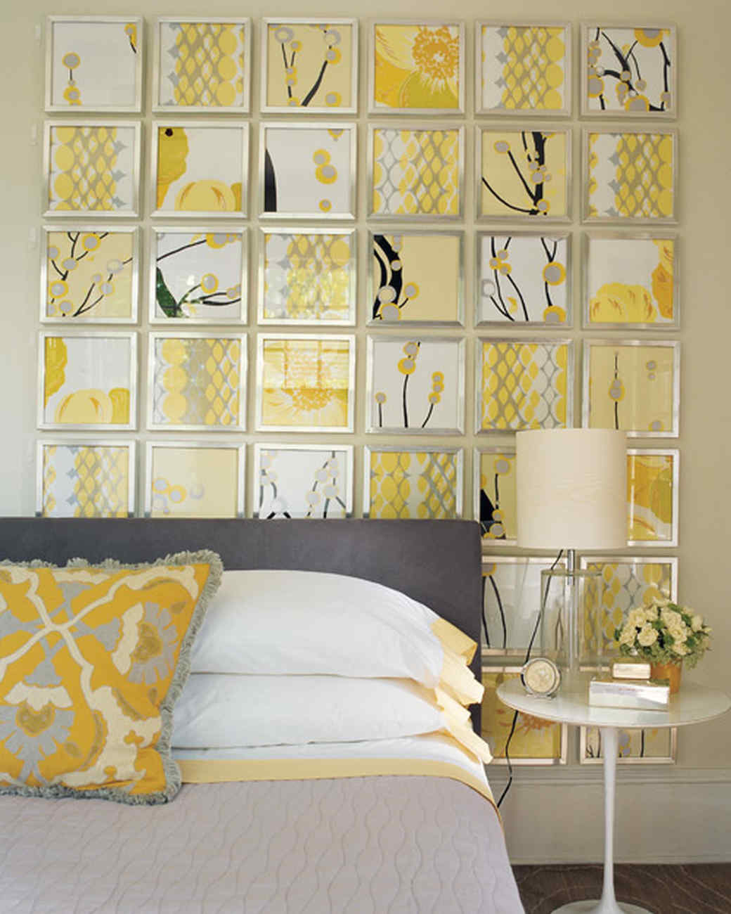 Gray And Yellow Kitchen Walls: Martha Stewart
